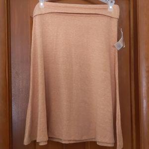 LuLaRoe LLR Azure Skirt heathered XL